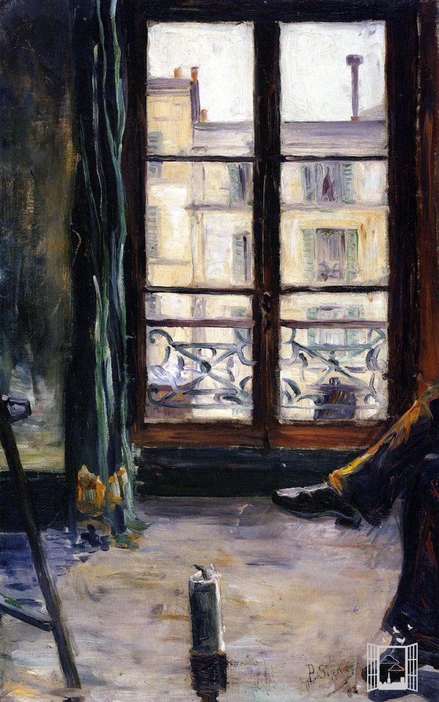 Montmartre - étude : studio - Paul Signac, 1883